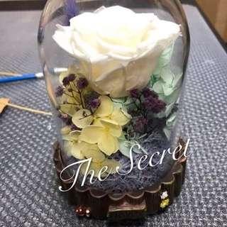 日本保鮮花 永生花 情人節禮物