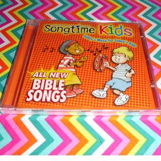 Charity Sale! All New Bible Songs Kids Christian CD