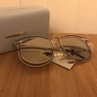 Karen Walker 銀框太陽眼鏡