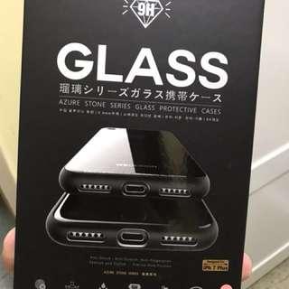 iPhone 7plus/8plus 9H Glass 防水防摔防指紋保護套包邊