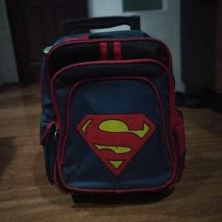 Superman bag (trolley/backpack)