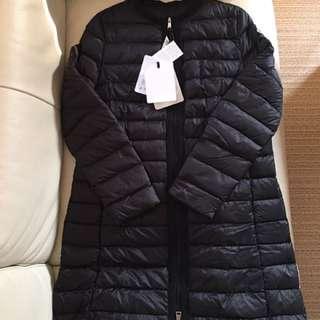 Size 3/4/5 only 全新Moncler down coat 黑色長身款