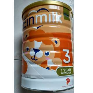 3 CANS 900g INFANT MILK POWDER (2 CANS 1 YEAR & 1 CAN 6 MTHS)