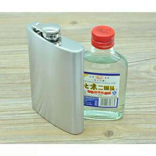 Flask hip (botol bir/wine ) 8 oz