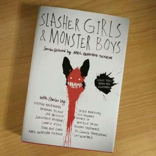 Slasher Girls and Monster Boys (Hard Cover)