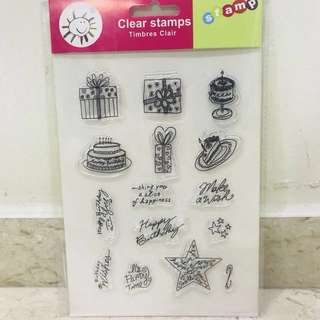 Clear stamp #Huat50Sale