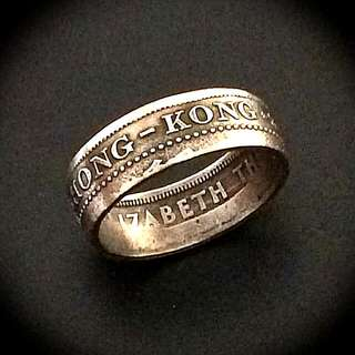 Ring from coin