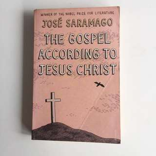 The Gospel According to Jesus Christ — Jose saramago