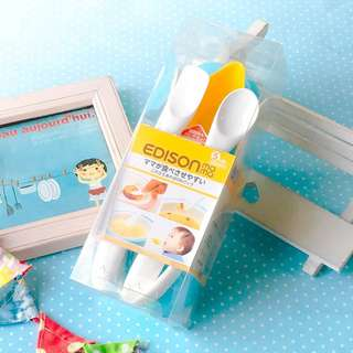 «Kimi Shop» 日本➜預購 日本EDISON寶貝離乳副食餐具6入組
