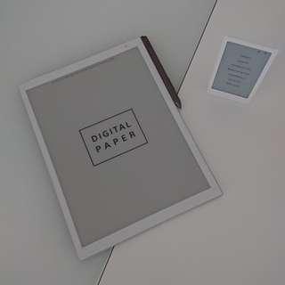 (包送貨)Sony電子紙張DPT-RP1 E-ink Digital Paper