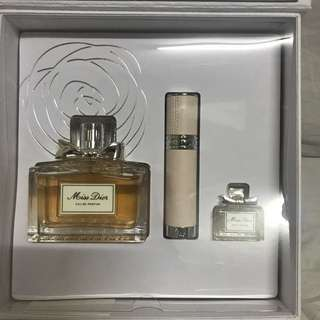 AUTHENTIC Miss Dior Perfume Set
