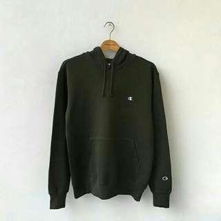 Champion hoodie green