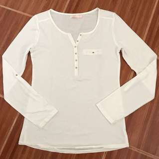 Authentic Bershka 3/4 sleeve Blouse