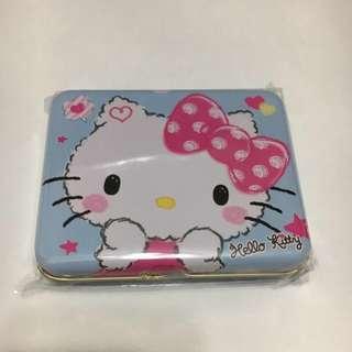 🎉新春大特賣$38 🇹🇼🆕台灣限定Hello Kitty朱古力粉籃盒