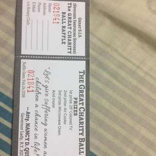 Great Love for Little Hearts Raffle Tickets