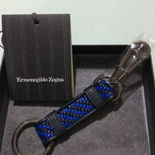 Ermenegildo Zegna 鎖匙扣 禮物 名牌 真皮