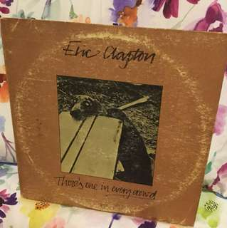 Eric Clapton Vinyl lp - one in every crowd