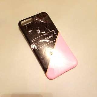 Iphone 8plus/7plus case marble