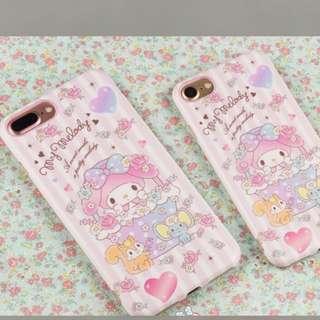 Sanrio my melody 手機殻 電話保護
