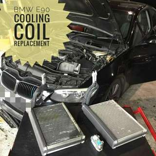 BMW E90 : Cooling_Coil replacement.