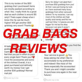 GRABBAGS GRAB BAGS