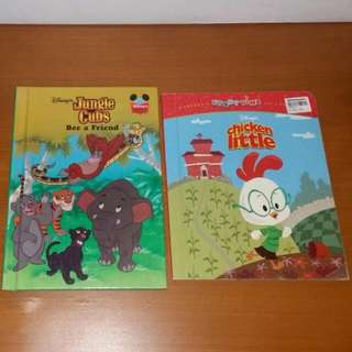 Disney's Jungle Cubs And Chicken Little Books