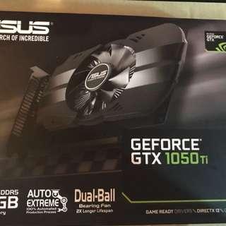ASUS 1050Ti GPU