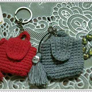 Mini bag charm
