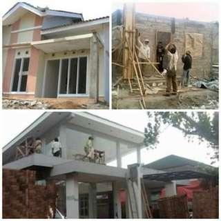 Jasa bangun & Renovasi Rumah