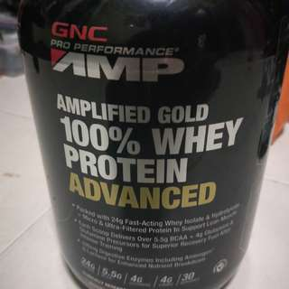 GNC Protein Powder ( negotiable)