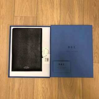 Smythson Full Grained Leather Sleeve A5 Size