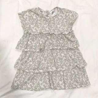 Cocoon layered dress