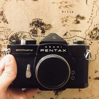 Pentax Spotmatic SP Vintage Film Camera SLR