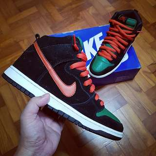 67365b53790d NIKE SB Dunk-High Jagermeister US8.5