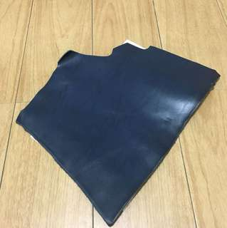 Thick leather cow hide