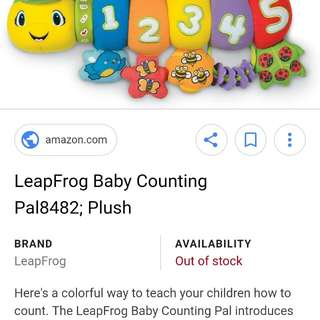 Leapfrog caterpillar Counting numbers&Abc