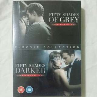 [Movie Empire] Fifty Shades Of Grey / Fifty Shades Darker Movie DVD
