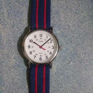 Timex 手錶 附兩條錶帶