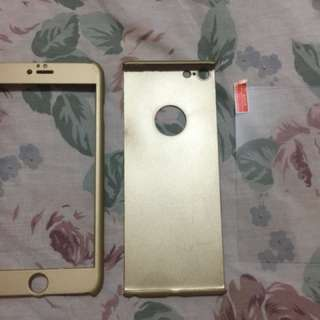 Iphone 6 Plus 360 Casing with Tempered Glass