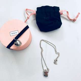 🐻TOUS Silver Sweet Dolls Necklace