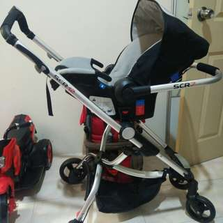 Sweet Cherry SC12 Stroller & Carrier