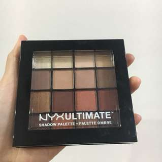 *REPRICED* NYX Ultimate Shadow Palette in Warm Neutrals