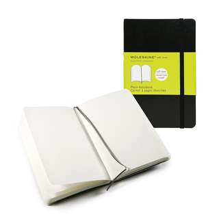 Moleskine Plain Notebook Softcover