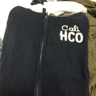 Hollister hoodie navy