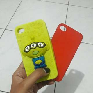 Iphone 4 Case Toy Story (FREE red Iphone 4 case!)