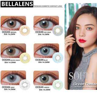 Miss Bella Ocean Gray Contact Lenses