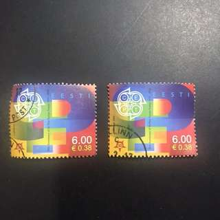 Estonia - 50th Anniversary of the First Europe Stamps
