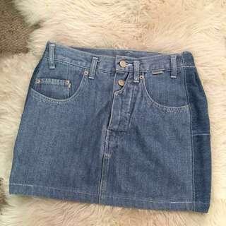 Vintage Esprit Denim Skirt