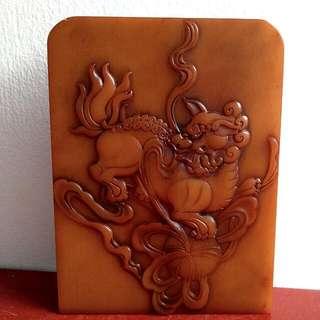 Shoushan Stone Carving Stamp  寿山石雕刻印章
