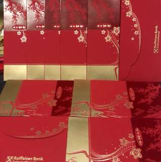 Red Packets: Raiffeisen Bank International A pack of 10 Red Packets
